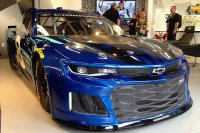 The Chevrolet Camaro ZL1 Makes Its Racing Debut at the 2018 Daytona 500