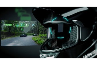 Jarvish Is the High-Tech Motorcycle Helmet of the Future