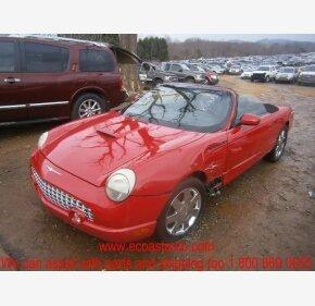 2002 Ford Thunderbird for sale 100292852