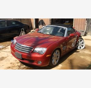 2005 Chrysler Crossfire Limited Convertible for sale 100293305