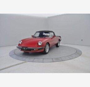 1985 Alfa Romeo Spider for sale 100732929