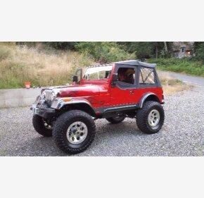 1984 Jeep CJ 7 for sale near Snohomish, Washington 98290