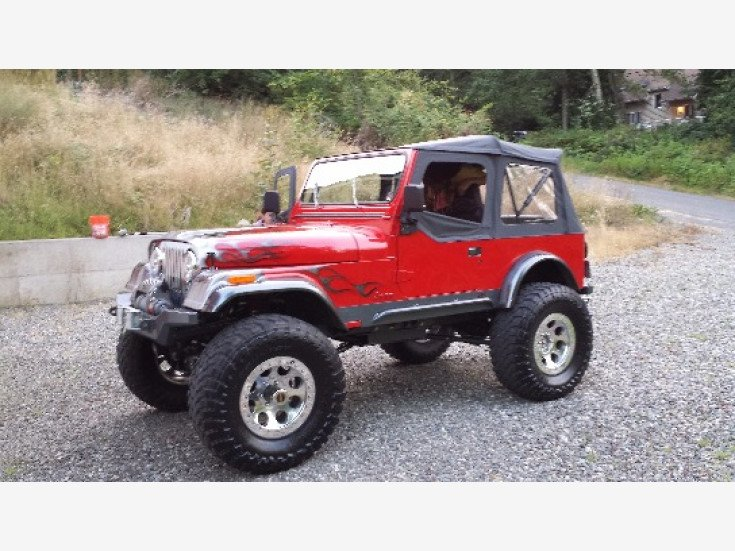 1984 Jeep CJ 7 for sale near Snohomish, Washington 98290 - Classics