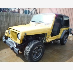 2004 Jeep Wrangler 4WD X for sale 100746421
