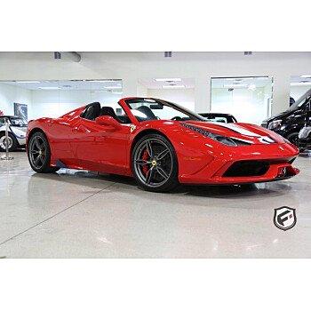2015 Ferrari 458 Italia Speciale A Spider for sale 100784134