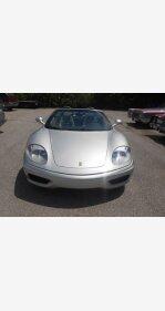 2002 Ferrari 360 for sale 100827018
