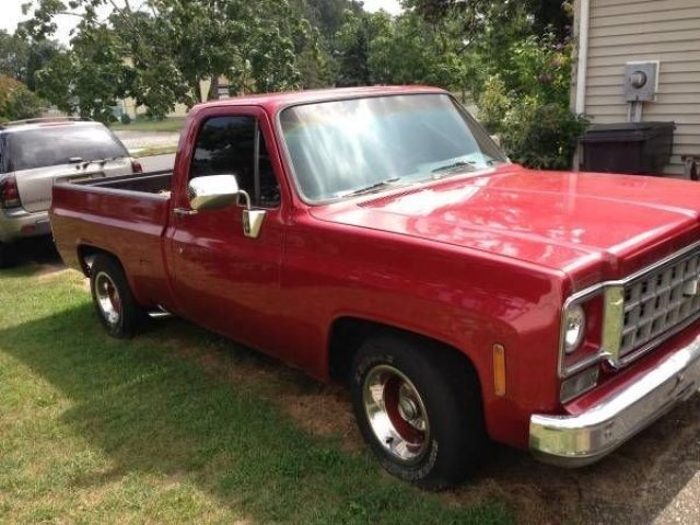 1977 chevrolet c k truck classics for sale classics on autotrader 1976 Chevy C10 Long Bed