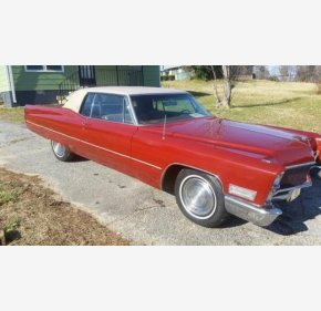 1968 Cadillac De Ville for sale 100841350