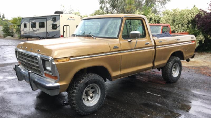 70 model ford trucks