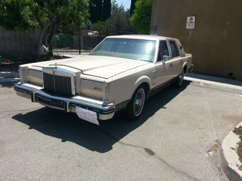 1980 Lincoln Continental Classics For Sale Classics On Autotrader