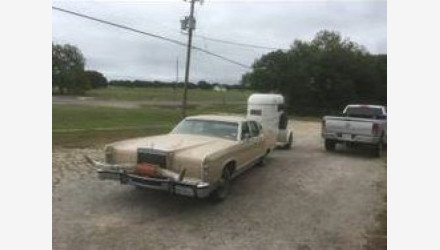 1978 Lincoln Continental for sale 100880704