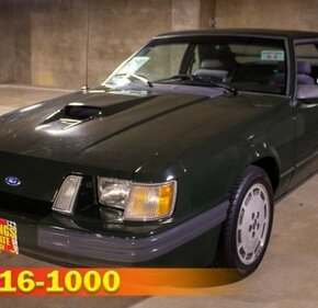 1985 Ford Mustang SVO Hatchback for sale 100905299