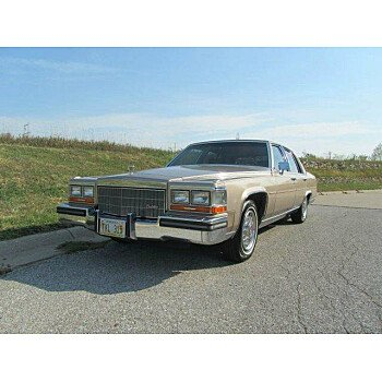 1986 Cadillac Fleetwood Brougham Sedan for sale 100907600