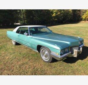 1971 Cadillac De Ville for sale 100912665