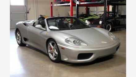 2002 Ferrari 360 Spider for sale 100914555