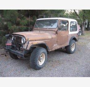 Classic Jeeps For Sale >> Jeep Cj 7 Classics For Sale Classics On Autotrader
