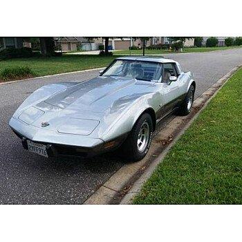 1978 Chevrolet Corvette for sale 100923421
