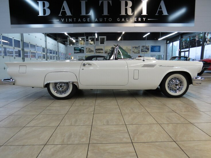 1957 Ford Thunderbird For Sale Near Saint Charles Illinois 60174