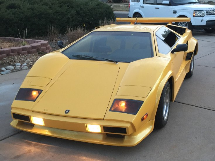 1980 Lamborghini Countach For Sale Near Denver Colorado 80231
