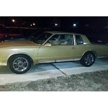 1986 Chevrolet Monte Carlo for sale 100947000