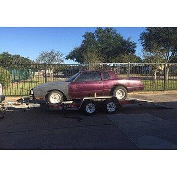 1986 Chevrolet Monte Carlo for sale 100951224