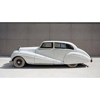 1951 Rolls-Royce Silver Wraith for sale 100951506