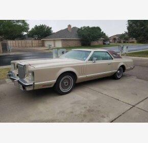 1978 Lincoln Mark V for sale 100958392