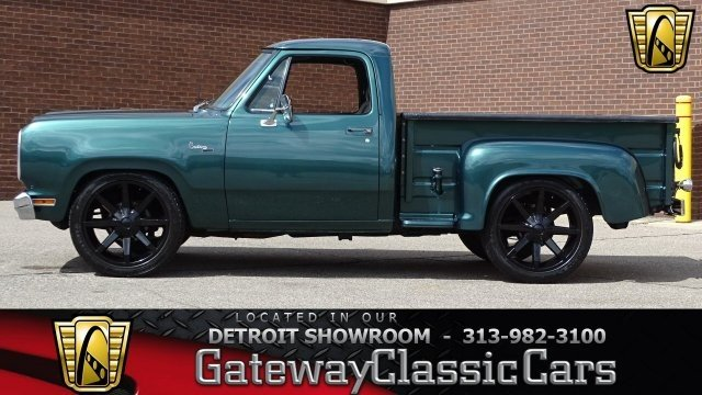 Dodge D W Truck Classics For Sale Classics On Autotrader