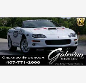 2000 Chevrolet Camaro Z28 Convertible for sale 100973928