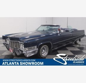 1969 Cadillac De Ville for sale 100975690