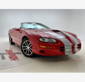 2002 Chevrolet Camaro Z28 Convertible for sale 100977196