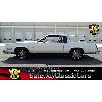 1985 Cadillac Eldorado Coupe for sale 100979903
