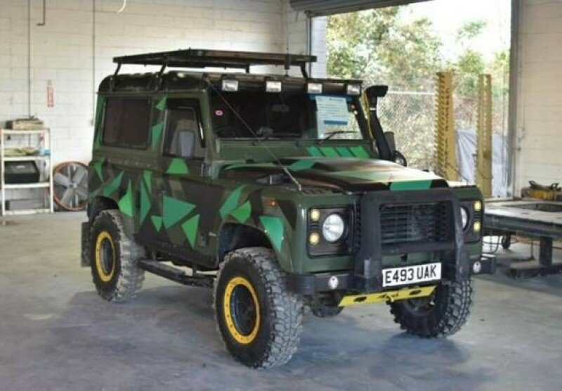 Land Rover Defender Classics For Sale Classics On Autotrader