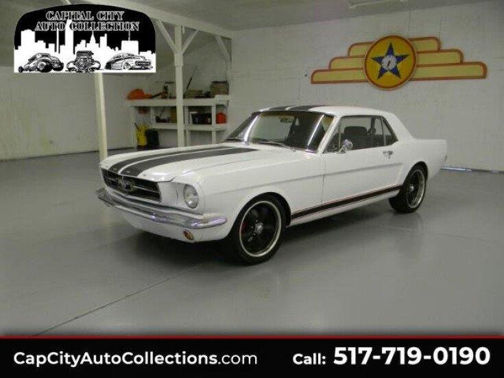 Capital City Auto >> 1965 Ford Mustang For Sale Near Mason Michigan 48854