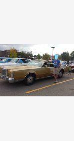 1973 Lincoln Continental for sale 100991925