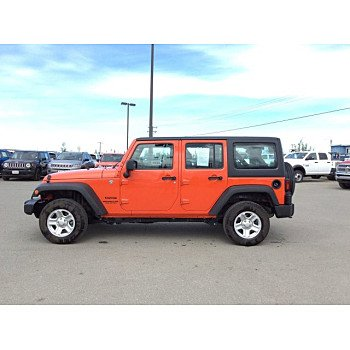 2015 Jeep Wrangler 4WD Unlimited Sport for sale 100992473