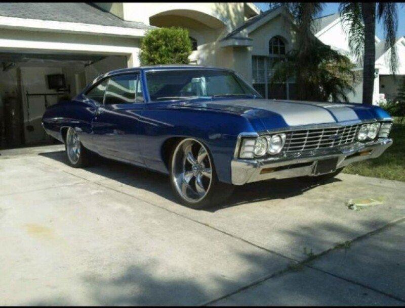 chevrolet impala sedan 1967 usata automobilistico. Black Bedroom Furniture Sets. Home Design Ideas