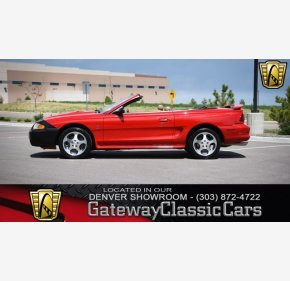 1997 Ford Mustang Cobra Convertible for sale 100997238