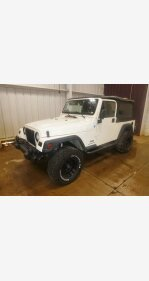 2005 Jeep Wrangler 4WD Unlimited for sale 101004425
