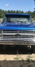 1985 Chevrolet C/K Truck 4x4 Regular Cab 2500 for sale 101005094