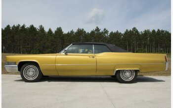 1970 Cadillac De Ville for sale 101005379