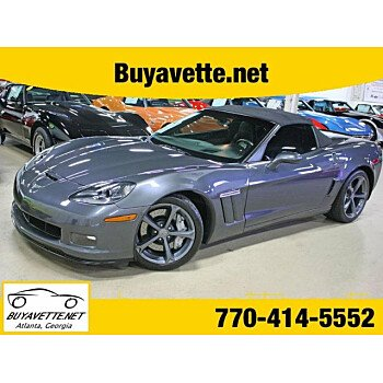 2010 Chevrolet Corvette Grand Sport Convertible for sale 101007809