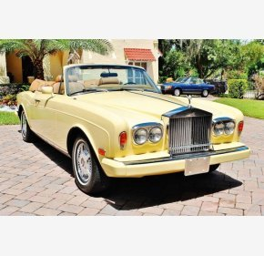 1982 Rolls-Royce Corniche for sale 101009545
