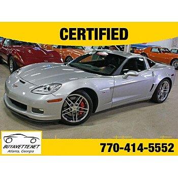 2007 Chevrolet Corvette Z06 Coupe for sale 101011770