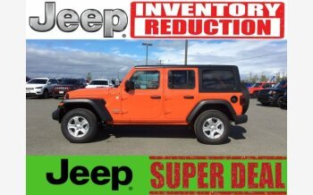 2018 Jeep Wrangler 4WD Unlimited Sport for sale 101012671