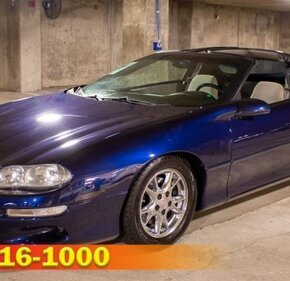 2001 Chevrolet Camaro Z28 Coupe for sale 101013278