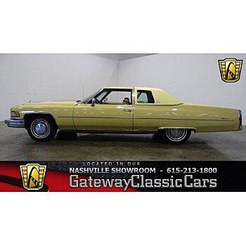1975 Cadillac De Ville for sale 101013312