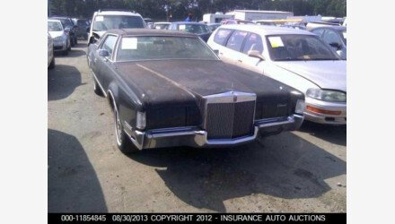 1972 Lincoln Mark IV for sale 101016182