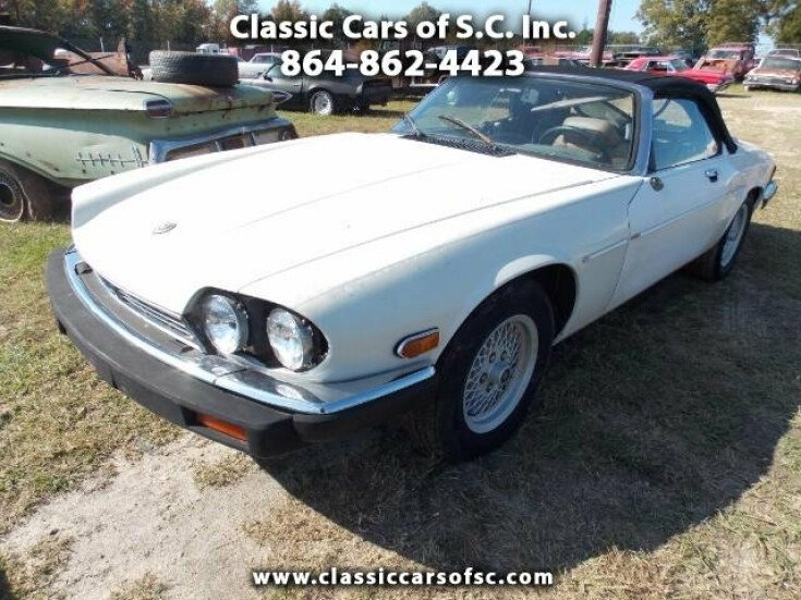1990 Jaguar Xjs V12 Convertible Car For By Clic Cars Of Sc Inc In Gary Court South Carolina 29645