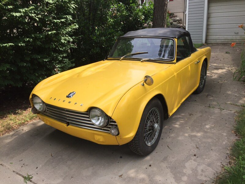 1963 Triumph Tr4 For Sale Near Holly Michigan 48442 Classics On